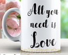 Caneca All you need is love - 1447