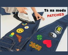 Patch Bordado Termocolante Kit com 10