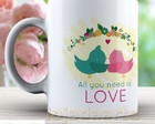 Caneca All you need is love - 1461