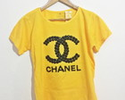 T-shirt Chanel Exclusiva com Pedrarias