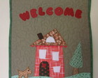 "PANÔ PATCHWORK ""WELCOME"""