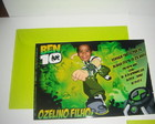Convite Ben 10