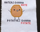 Bordado Potatoes gonna potate