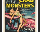 Quadro Vintage Filme Crab Monster PS086