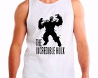 Camiseta regata incredible hulk