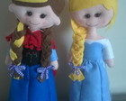 Bonecas Ana e Elsa do frozen