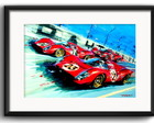 Quadro Ferrari Pop Art com Paspatur