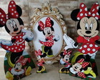 DISPLAYS MINNIE VERMELHA OU MINNIE ROSA
