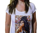 Camiseta Feminina Amy winehouse 4