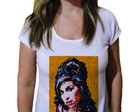 Camiseta Feminina Amy winehouse 9