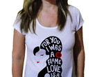 Camiseta Feminina Amy winehouse 15