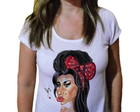 Camiseta Feminina Amy winehouse 17