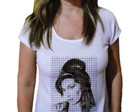 Camiseta Feminina Amy winehouse 18