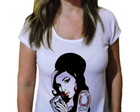 Camiseta Feminina Amy winehouse 23