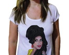 Camiseta Feminina Amy winehouse 24