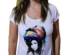 Camiseta Feminina Amy winehouse 25