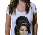 Camiseta Feminina Amy winehouse 31