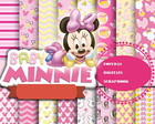 kit scrapbook digital Minnie Mouse Baby