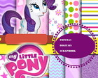 kit scrapbook digital my little pony