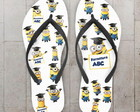 Chinelo Formatura Infantil ABC Minions