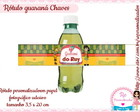 Rótulo de Guaraná Chaves