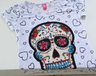 T shirt Caveira Mexicana Love
