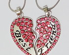 2 Colares Best Friends Strass Pink