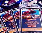 Convite Hot Wheels Credencial Vip