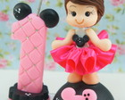 Mini Topinho Minnie com vela