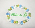 Pulseira em cristal Swarovisk