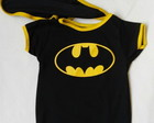 Body Baby Batman com Capinha