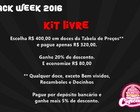 Kit Livre - Black Friday