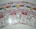 Kit colorir Gata Marie