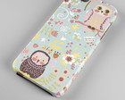Capinha | Case Iphone Flor e coruja 0001