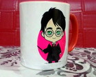 Caneca Harry Potter Chibi
