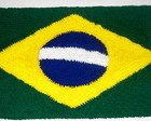 Tapete Bandeira do Brasil - Frou frou