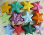 Kit com 12 ms de Estrelas Coloridas