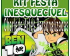 KIT FESTA DO BEN 10