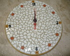Relgio mosaico 26cm de dimetro