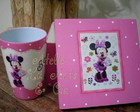 Kit caixa e copo Minnie