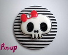 BOTTON BIG SKULL - 5,5CM