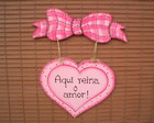 PLACA  DECORA��O