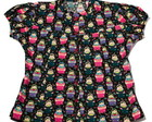 CAMISA MATRYOSHKA FUNDO PRETO