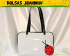 JOANINHA P BOLSA OMBRO BRANCA