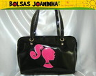 BARBIE PINK BOLSA OMBRO PRETA