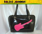 GUITARRA PINK BOLSA OMBRO PRETA