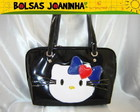 HELLO KITTY BOLSA OMBRO PRETA