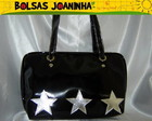 3 ESTRELAS PRATAS BOLSA OMBRO PRETA