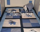 Colcha para mini cama