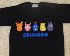 CAMISETA BACKYARDIGANS BLACK
